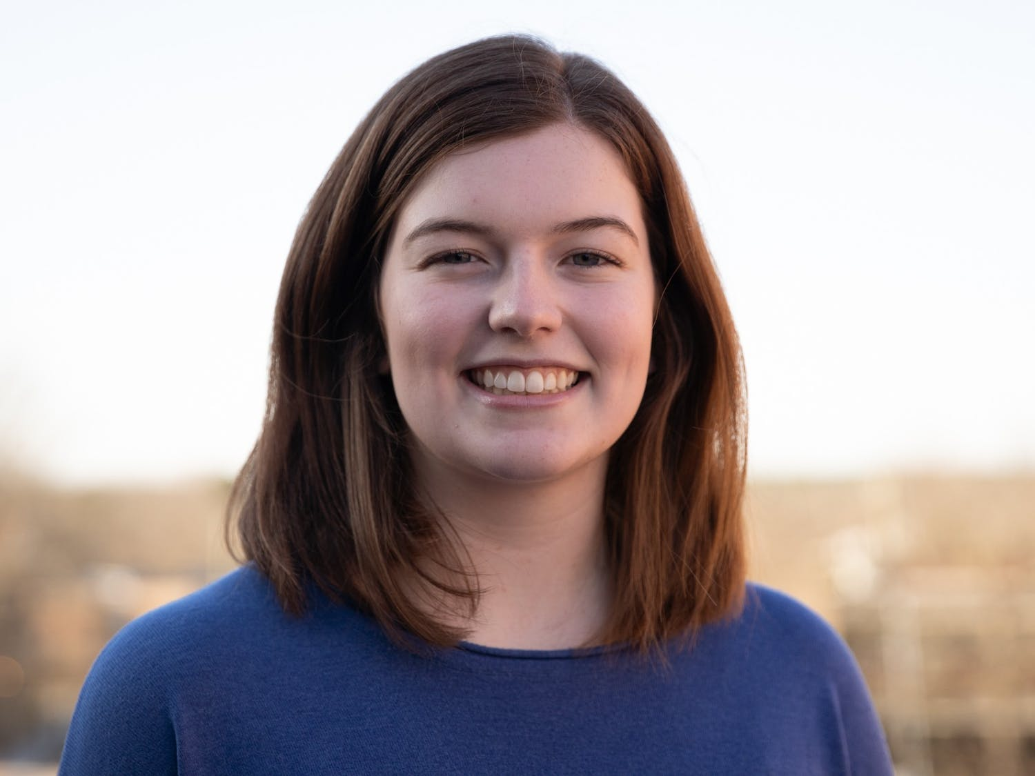Maddie Ellis, assistant Arts & Culture editor, pictured on Monday, Jan. 20, 2020.