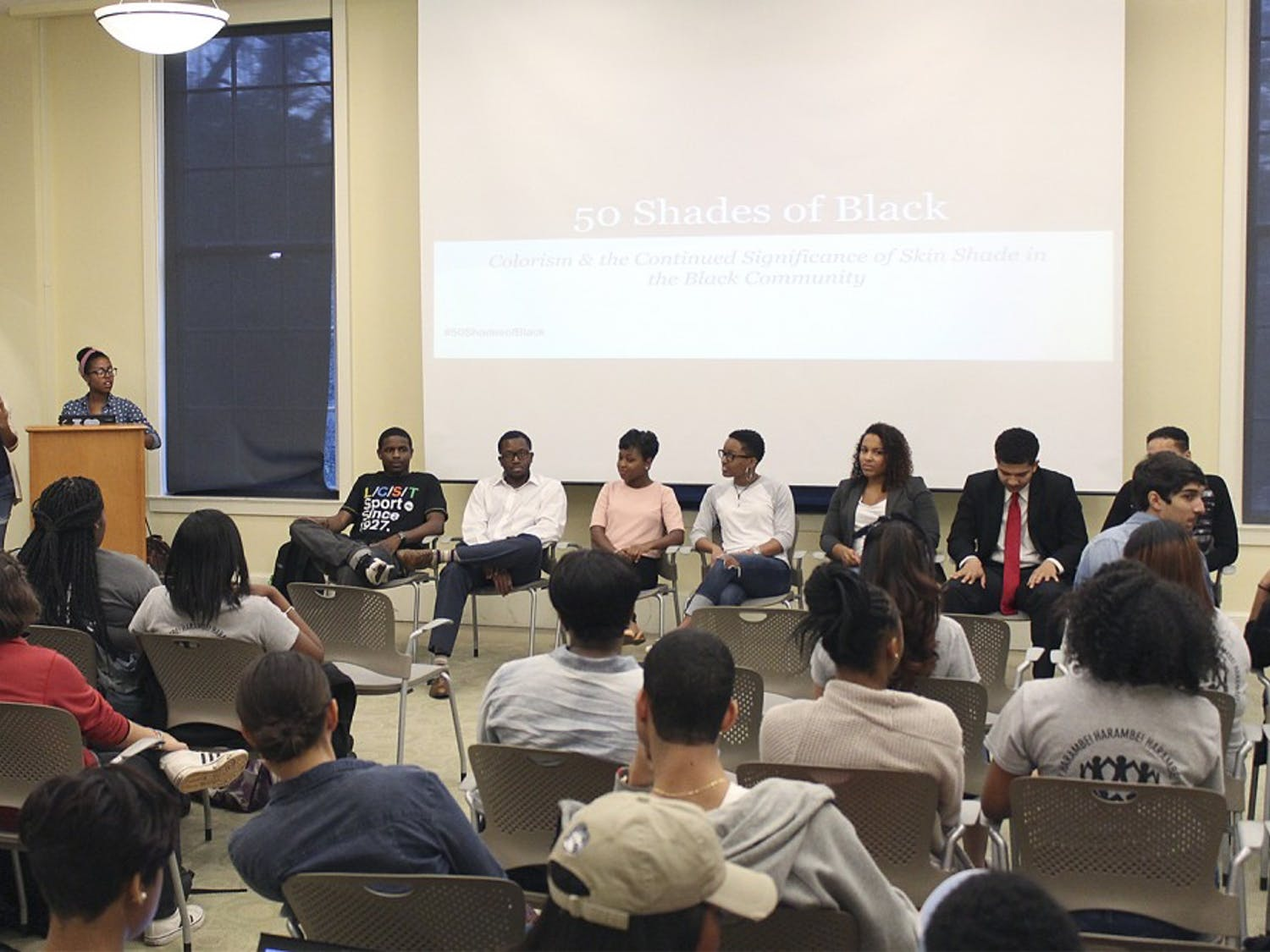 Black Student Movement holds discussion about colorism, what it means and who it affects.