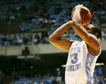 Will Graves needs to add outside scoring as he is the main candidate to fill in for the departed Wayne Ellington. DTH File Photo