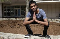 Vivek Menon is a UNC-Chapel Hill student and rapper who will be dropping an album soon.