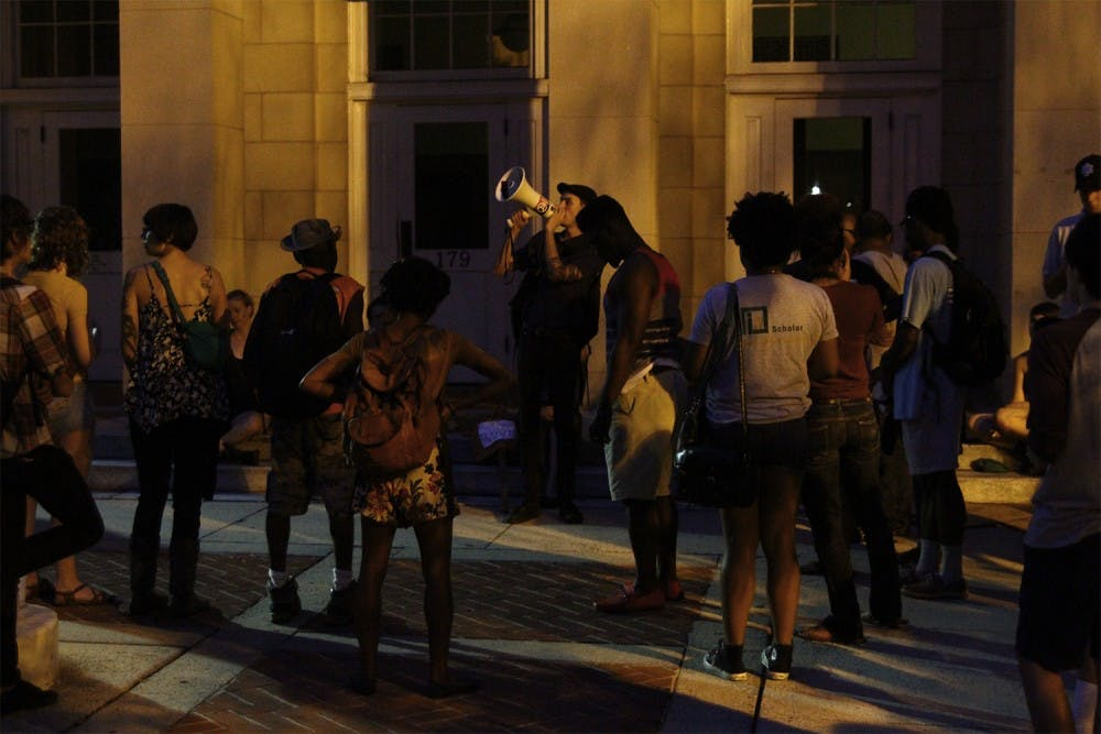 Ferguson protests come to Chapel Hill