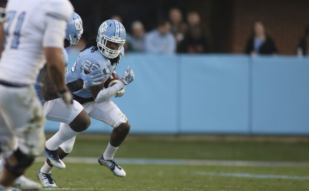 UNC football becomes final team to record interception in win over The Citadel