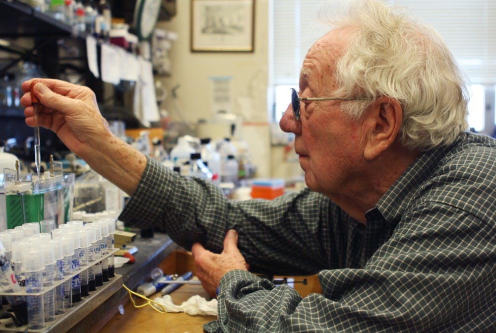Oliver Smithies, co-winner of the Nobel Prize in Physiology of Medicine in 2007 is funding an effort to bring other winners to speak at UNC.
