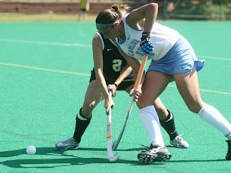 #11 Kate SchollUNC vs. WFU field hockey10/4/08Henry FieldUNC wins 4-3