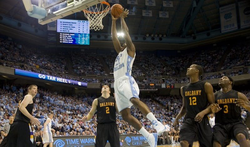 ... on Wednesday, Dec 30, 2009 in the Dean E. Smith Center in Chapel Hill, N.C.