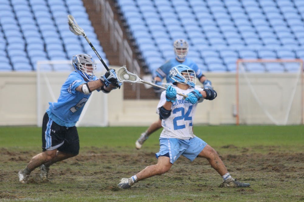 UNC men's lacrosse brought the energy, but it wasn't enough in loss to Johns Hopkins