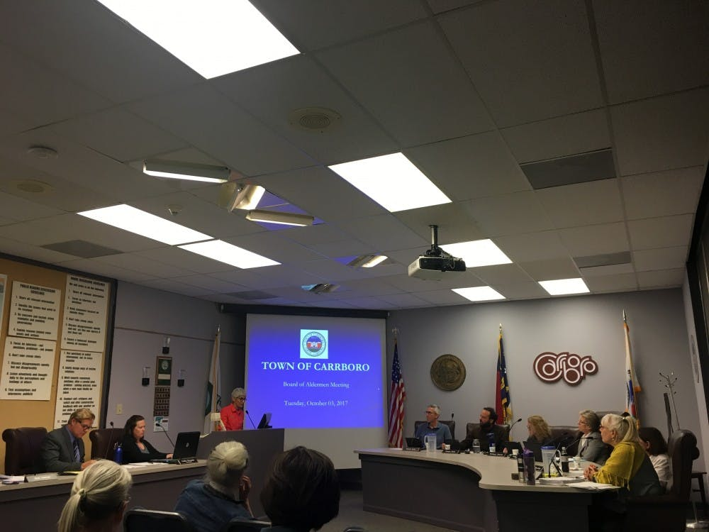 Carrboro Board of Aldermen meets Oct. 3