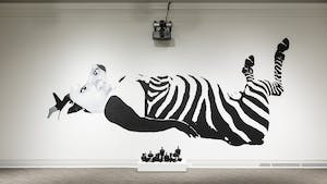 One of the murals at the Ackland Art Museum honoring Breonna Taylor. Photo courtesy of Ackland Art Museum.