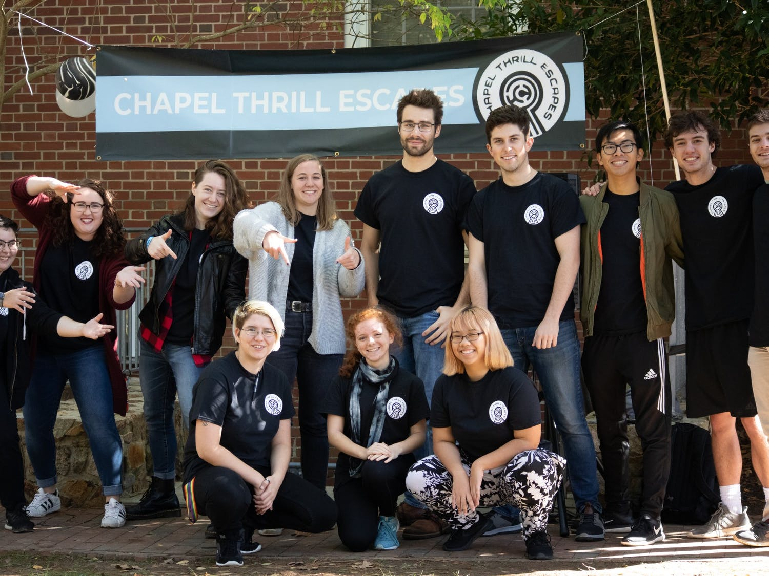 Chapel Thrill introduced an on-campus escape room in November 2019. Photo courtesy of Cameron Champion.