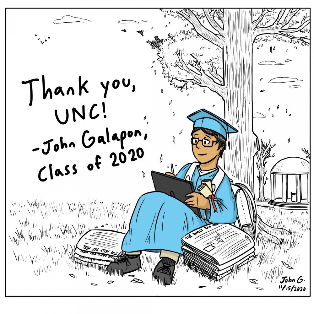 Cartoon: Thank you, UNC