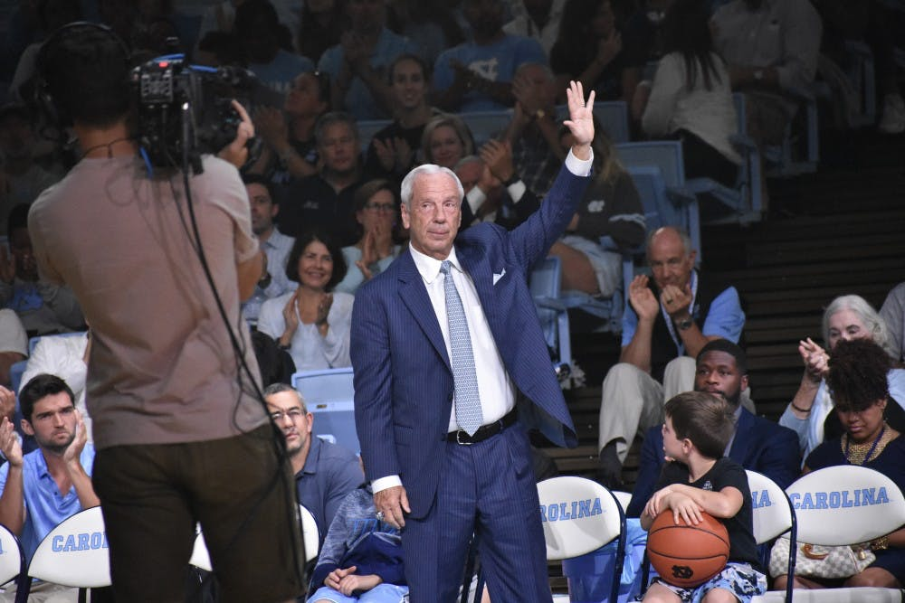 Roy Williams and 10 other UNC head coaches have signed contract extensions