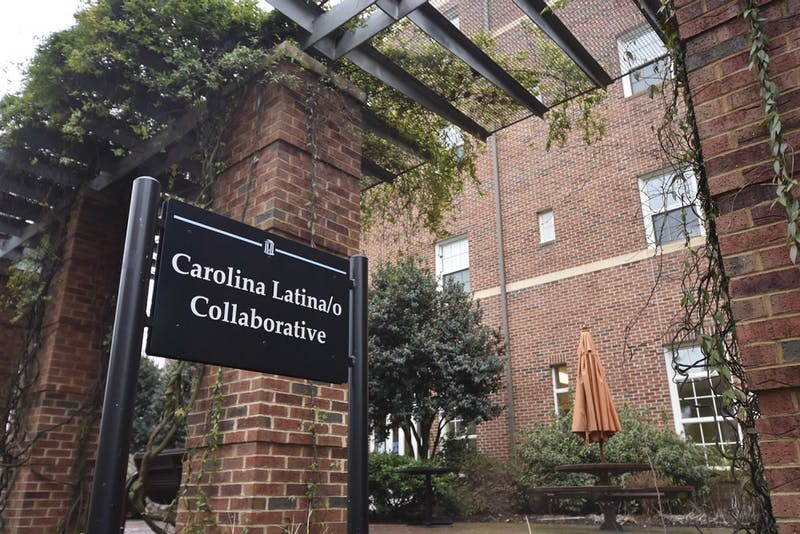 Craige North Residence Hall houses the Carolina Latina/Latino Collaborative.