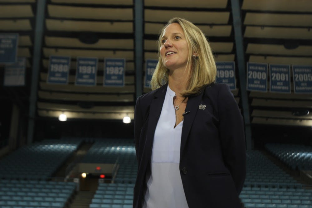 Meet Courtney Banghart, new head coach of UNC women's basketball