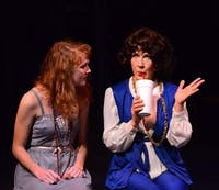 """Theatre in the Park is performing the musical """"Assassins""""  through March 11. Photo courtesy of Steve Larson."""