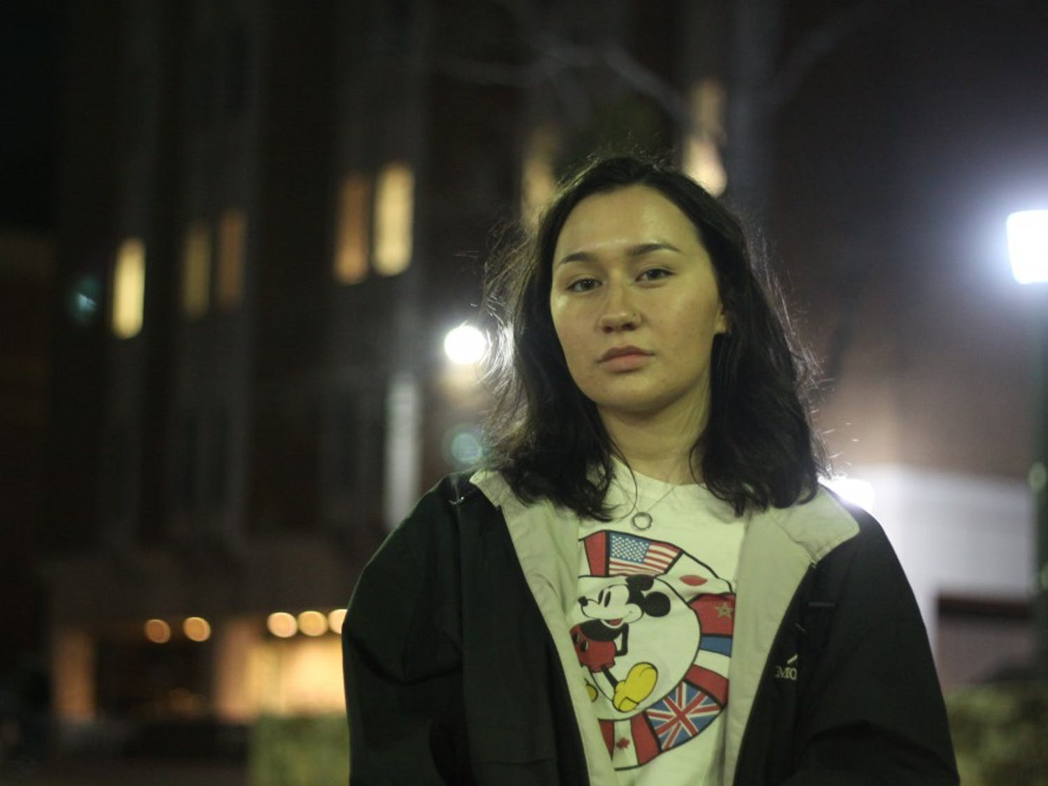 """Elizabeth Ordoñez, a sophomore biology and global studies major, is one of two leaders for Mi Pueblo, a Latinx student organization at UNC-Chapel Hill, working to organize the """"Love Knows No Borders"""" vigil that will be held in the Pit Thursday, Feb. 14, 2019 at 5:15 p.m., Valentine's Day."""
