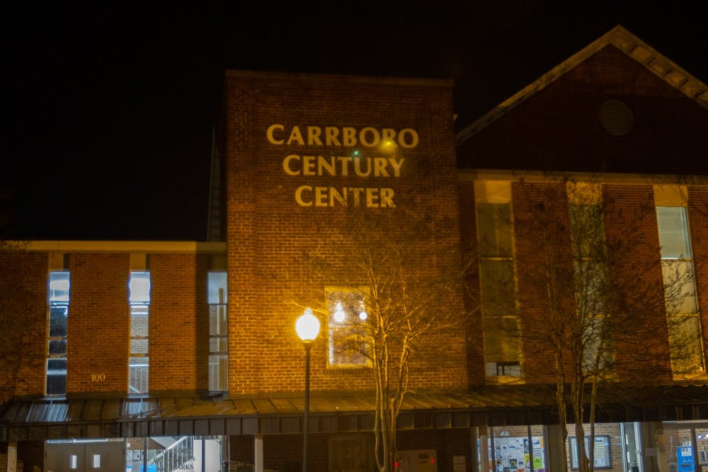 The Carrboro Century Century is located at 100 N Greensboro St, Carrboro, N.C.