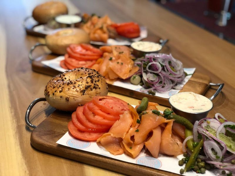 Deli Edison, soon to open in Chapel Hill, will serve handmade bagels every day. Photo courtesy of Dan Obusan.