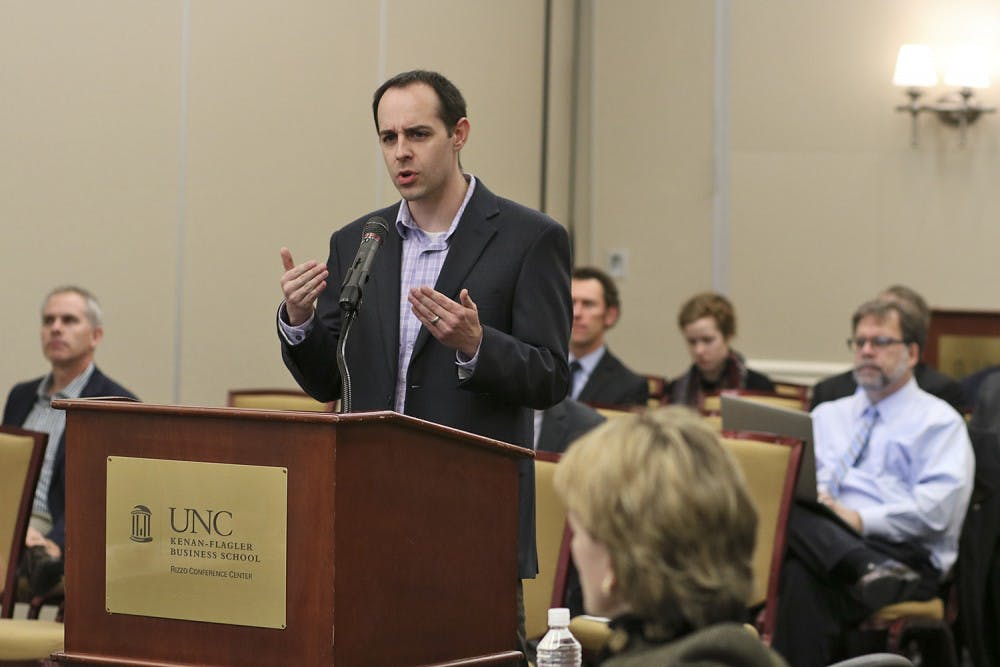 Board of Trustees learn about UNC's new environmental goals