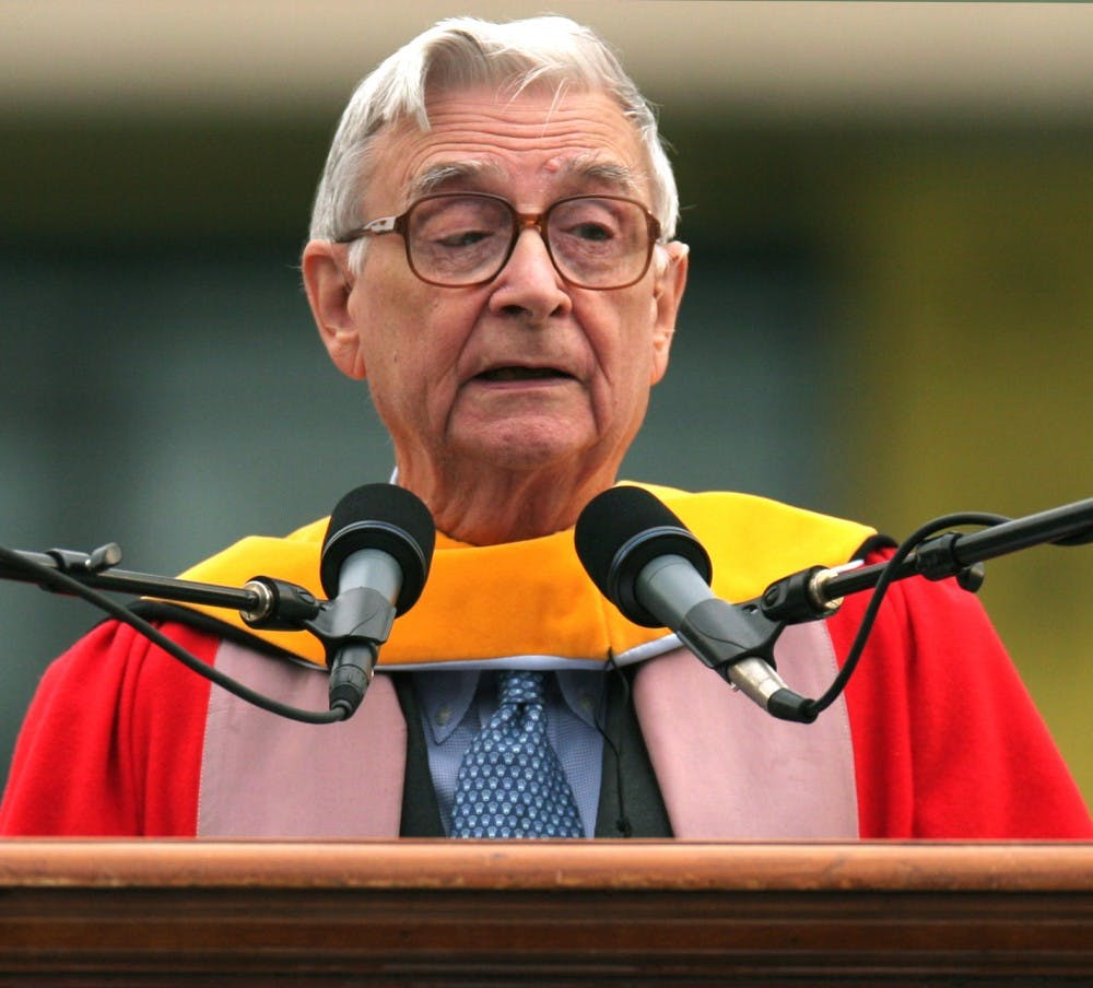 E.O. Wilson stresses the importance of environmentalism, awareness
