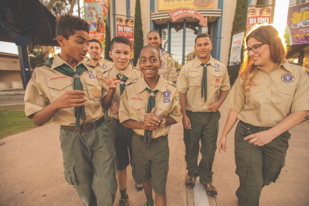 <p>The Boy Scouts of America voted to admit girls into their program. Photo courtesy of Boy Scouts of America.</p>
