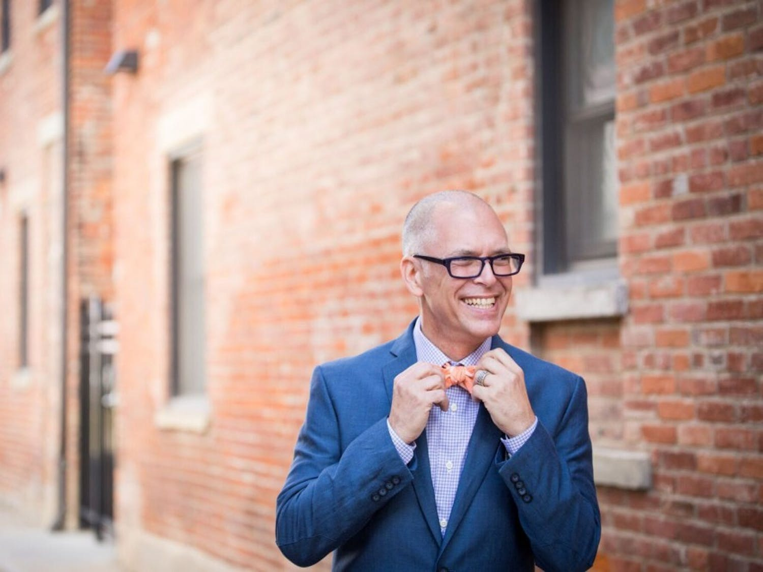 Jim Obergefell, lead plaintiff in the Supreme Court's same-sex marriage case, stressed the importance of the LGBTQ community continuing to push for transgender equality in 2016. Photo courtesy of Emma Parker Photography.