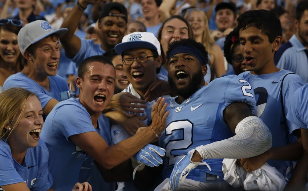 UNC football looks forward to NC State, Senior Day