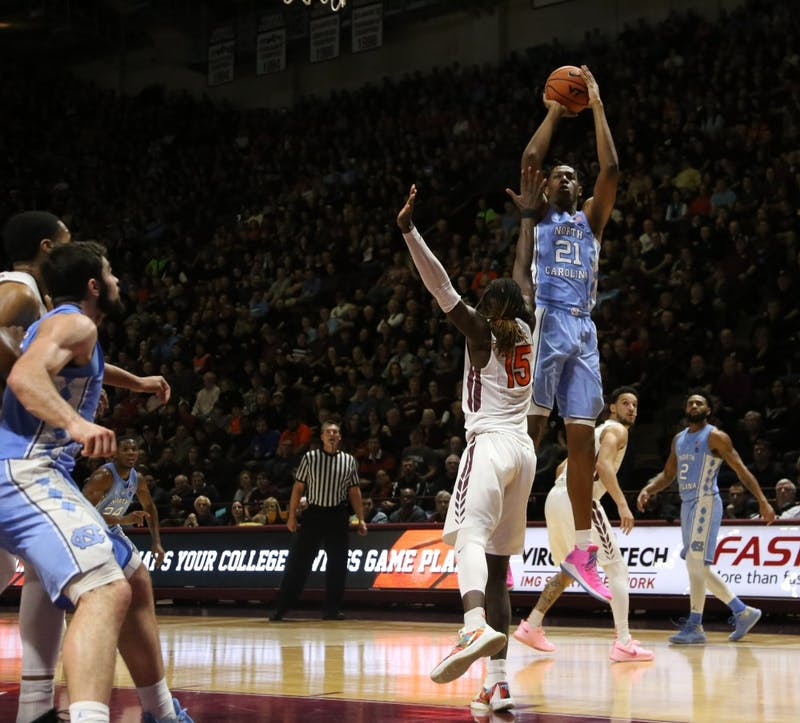 No. 10 North Carolina upset by Virginia Tech, 80-69, on the road