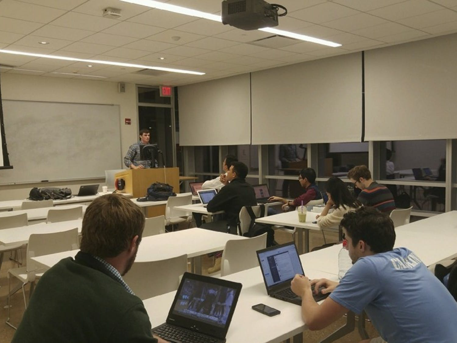 The Student Congress Rules and Judiciary Committee discussed the proposal to separate the undergraduate and graduate student government on Tuesday January 31.
