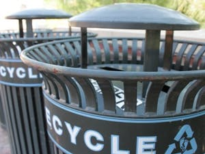 A recent report found contamination of recyclable materials in Orange County ranges from 2 to just over 10 percent, which is below the national average of 25 percent. UNC has implemented initiatives to improve solid waste management and works to get students to recycle correctly.