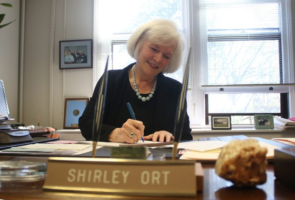 When she retires, Carolina Covenant author Shirley Ort will be missed for her big heart
