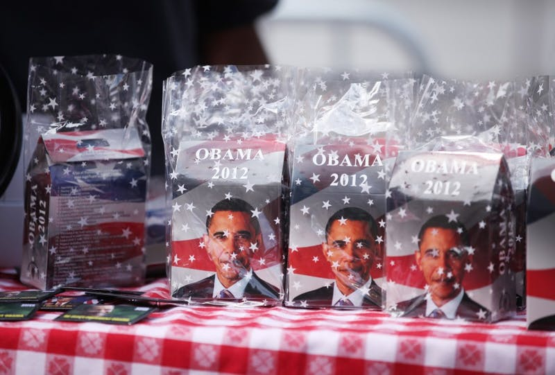 Obama cookies by Aliza's Cookies.