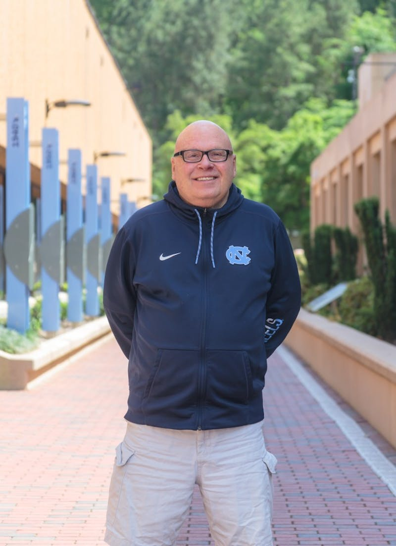 Dave Lohse, to his knowledge, was the first openly gay man to work in college athletics communications. He came out in Chapel Hill in 1992.