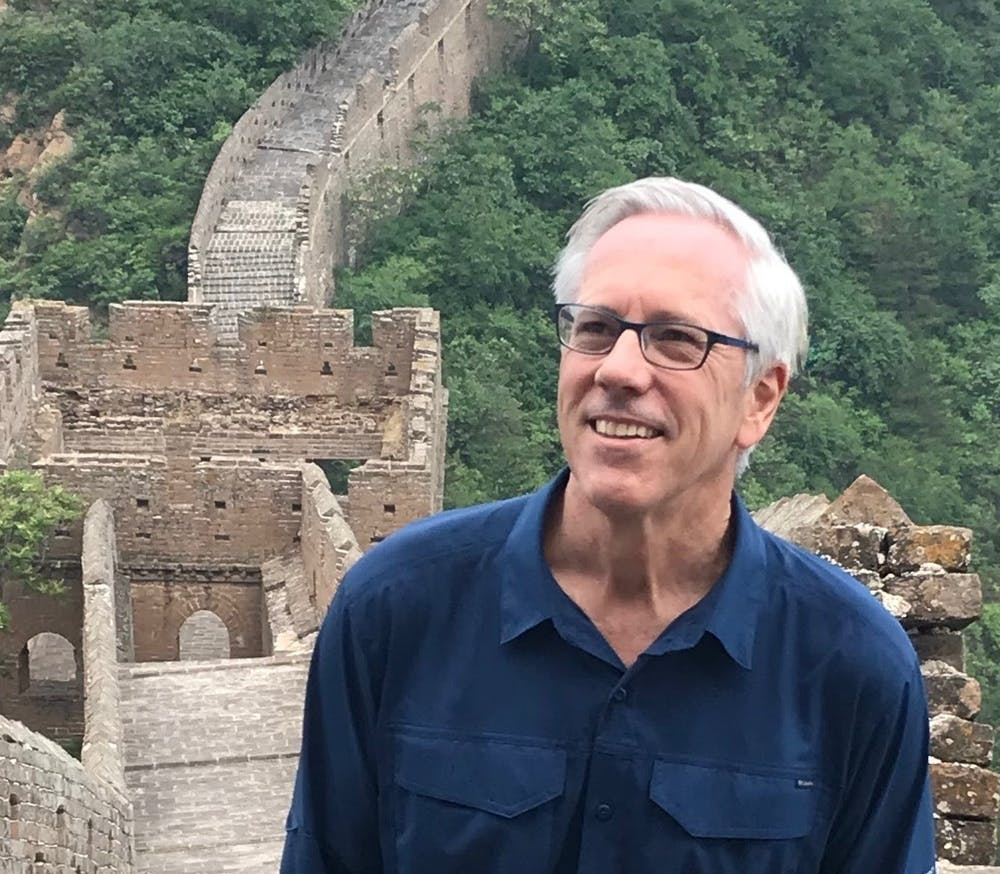 <p>Jim Thomas, a professor at the UNC Gillings School of Global Public Health, has been writing an assortment of articles about UNC and the pandemic for Medium. Photo courtesy of Jim Thomas.</p>