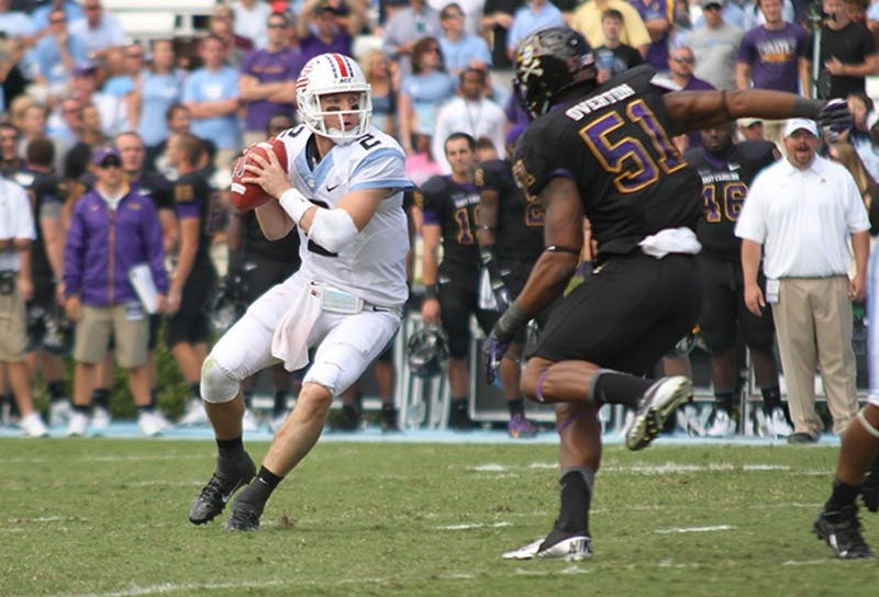 UNC v. ECU on Saturday, September 28 in Kenan Stadium.