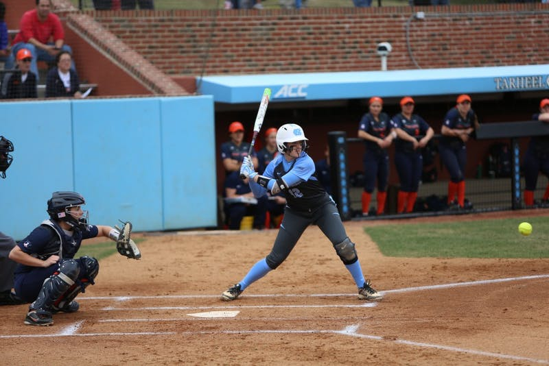 The UNC softball team took on Illinois in their opening seeking Sunday afternoon for the Big Ten/ACC Challenge.