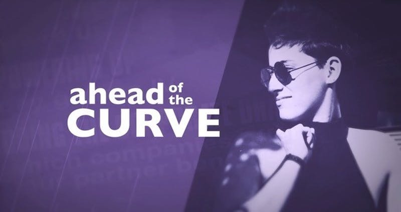 """Photo from """"Ahead of the Curve,"""" a film directed by Rivkah Beth Medow and Jen Rainin which will be featured at the OutSouth Queer Film Festival, beginning online on Friday, Nov. 13, 2020. Photo courtesy of FilmFreeway."""