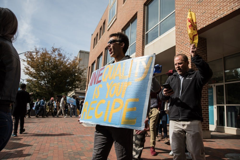 UNC Student-Farmworker Alliance protests Wendy's on campus