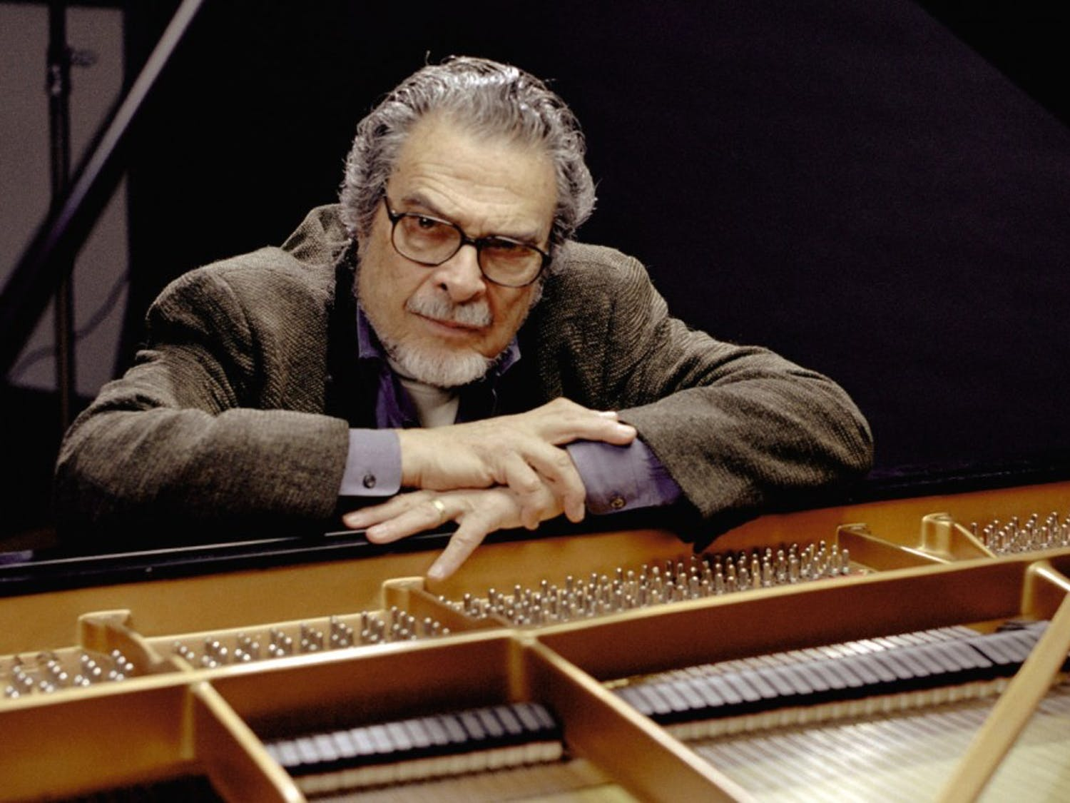 Pianist Leon Fleisher will perform in Memorial Hall tonight. Fleisher suffers from focal dystonia, a neurological condition that affects specific muscles. Photo courtesy of Carolina Performing Arts.