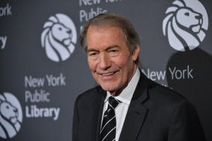 Charlie Rose is photographed on Nov. 7, 2016 at the NYPL Library Lions Gala in New York, New York. (Erik Pendzich/Rex Shutterstock/Zuma Press/TNS)