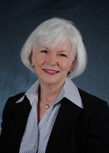 Shirley Ort, retired director of financial aid. Photo courtesy of Shirley Ort.