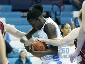 Waltiea Rolle leads the ACC in blocked shots with 68 this season. DTH File/Jessey Dearing
