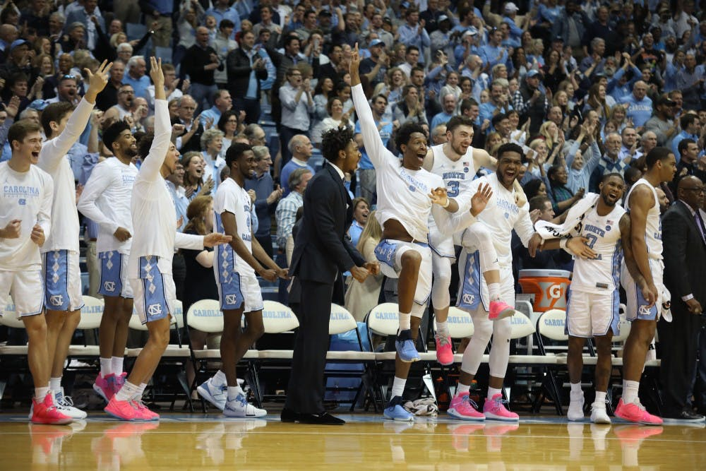 Preview of the weekend in UNC sports, including men's basketball at Wake Forest