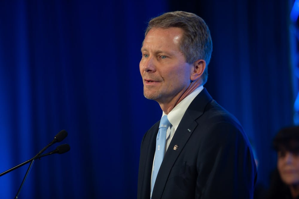 Kevin Guskiewicz named UNC's 12th permanent chancellor