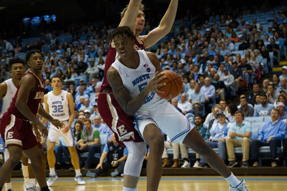 Armando Bacot's sense of urgency helps UNC avoid upset against Elon