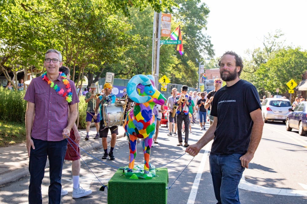 Carrboro marches into LGBTQ+ Pride Month with a parade to kickoff festivities