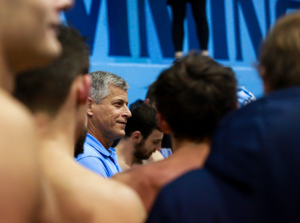 UNC head swimming and diving coach Rich DeSelm to step down