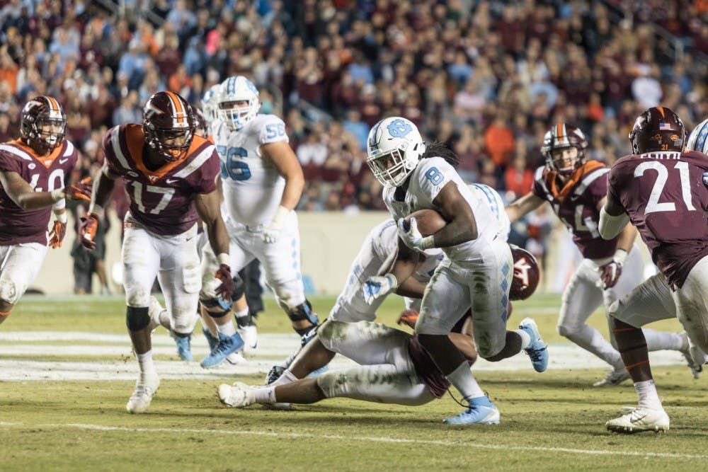 Preview: Three keys to No. 8 UNC, No. 19 Virginia Tech's top-20 clash