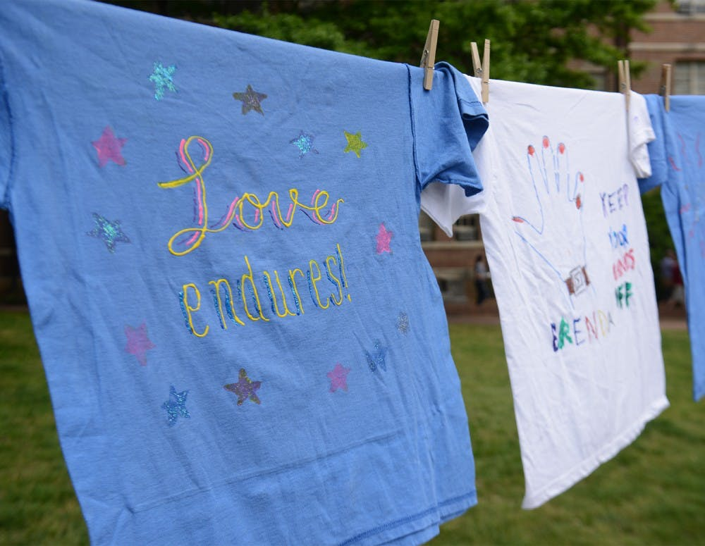 Clothesline Project gives a voice to victims of sexual assault