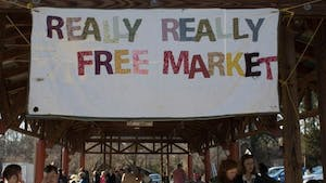 The Carrboro Really Really Free Market allows community members to give and take stuff for free.