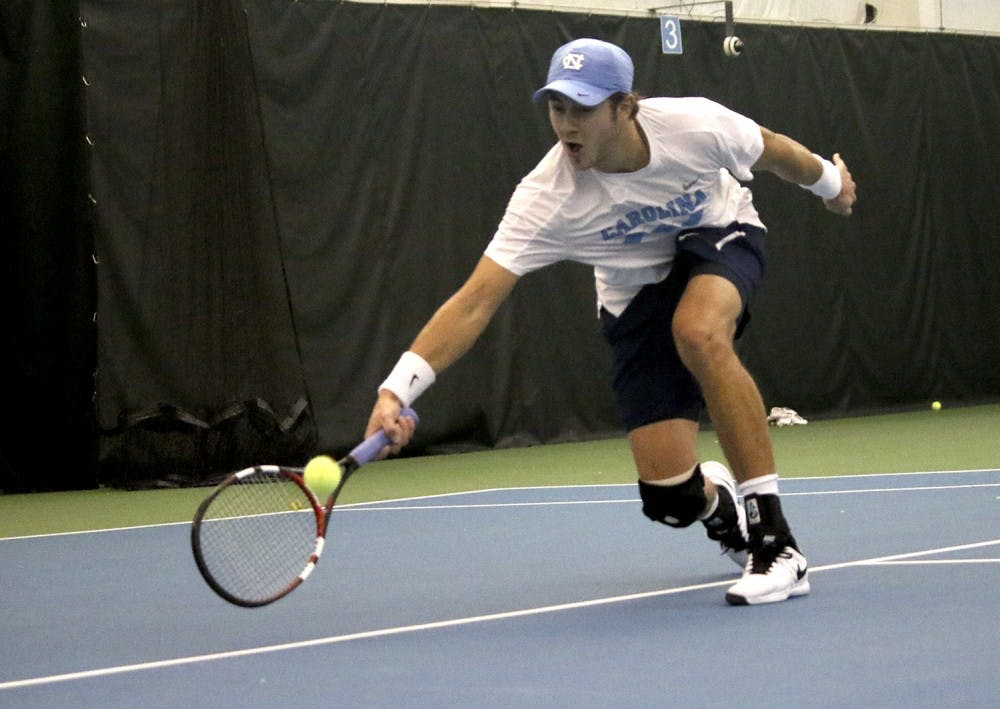Brayden Schnur returns, secures win for UNC men's tennis over Vanderbilt